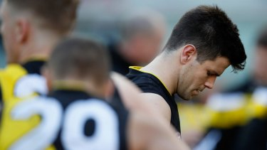 Richmond captain Trent Cotchin has opened up about the personal pressure he felt in 2016.