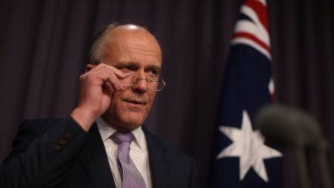 Public service minister Eric Abetz faces dissent from DHS workers over a new pay deal.