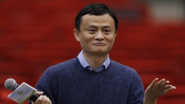 Power grows ... Alibaba Group Executive Chairman Jack Ma has pledged to uphold editorial independence at the South China Morning Post.