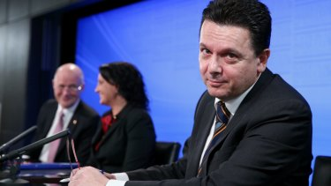 Independent senator Nick Xenophon is at odds with Liberal Democrat senator David Leyonhjelm and independent senator Jacqui Lambie over the potential changes to Senate voting.