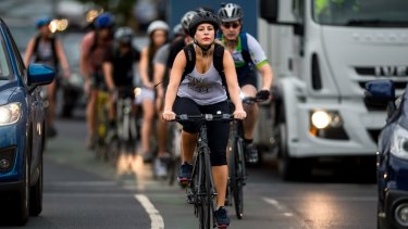Cyclists are overwhelmingly the ones who get injured or killed in crashes involving bikes.