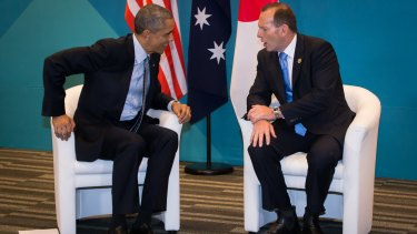 Out of step: Climate change, not economic growth, was the subject that captured imagination on the G20 summit sidelines. It was a big issue for US President Barack Obama, and an irritant for Prime Minister Tony Abbott.