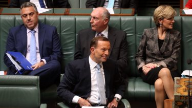 """The Abbott government has enjoyed a surge in popularity after its second, seemingly """"fairer"""", budget."""