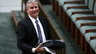 Michael McCormack at Federal Parliament.