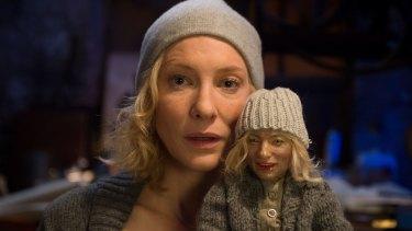 Cate Blanchett in Julian Rosefeldt's <i>Manifesto</i> (2015).