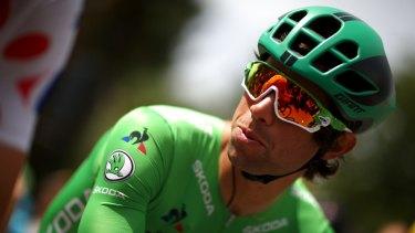 Canberra's Michael Matthews is a short ride to Paris away from winning the green jersey.