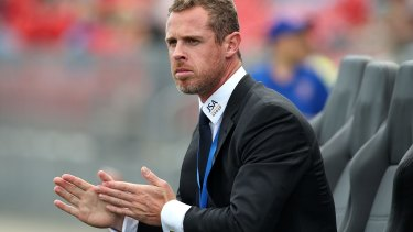 Sacked: former Jets coach Scott Miller.