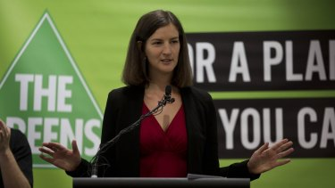 The Greens state MP for Melbourne, Ellen Sandell.