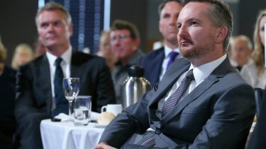 Chris Bowen says bank staff complain about pressure to sell products.