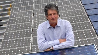 Pioneer: Professor Martin Green, director of the Australian Centre for Advanced Photovoltaics at the University of NSW.