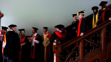 Sydney University's degree programme is under review.