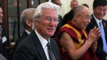Richard Gere with friend the Dalai Lama.