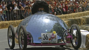 A Grug-inspired contestant in the last Australian Red Bull Billy Cart event in 2004.