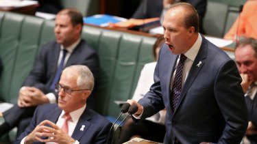Peter Dutton made comments linking previous Lebanese migration with terrorism offences.