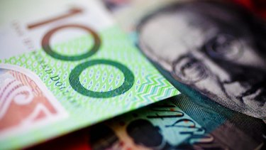 Up she rises: The Aussie dollar has hit its highest mark in 10 months.