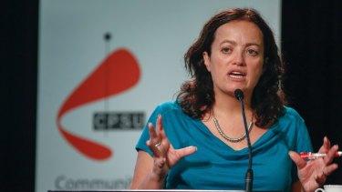 """Enormously significant'. CPSU national secretary Nadine Flood"