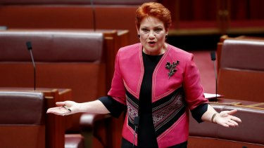 One Nation leader Pauline Hanson is standing by Malcolm Roberts despite his citizenship drama.