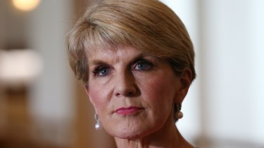 Foreign Minister Julie Bishop has urged President Donald Trump to remain engaged in the region.