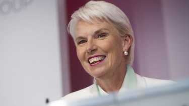 Gail Kelly, the first female CEO of one of Australia's major banks, has joined the board of South African retailer Woolworths, which now owns David Jones.