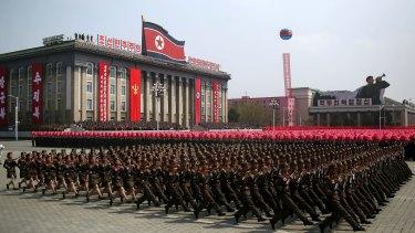 North Korea has warned the US of a preemptive strike.