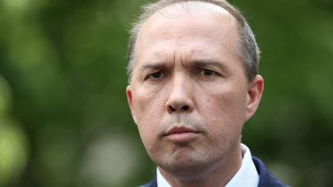 Immigration Minister Peter Dutton says the riot caused close to $10 million damage.