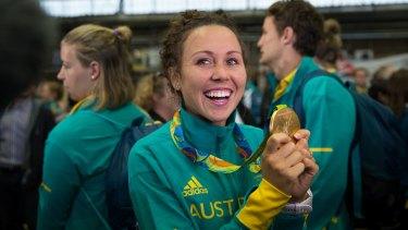 Pentathlon gold medallist Chloe Esposito.