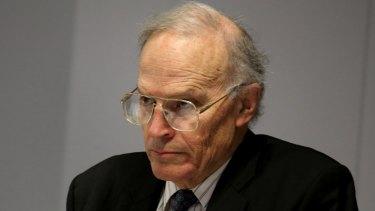 Royal commissioner Dyson Heydon