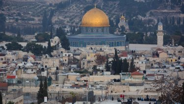 """Turkey called the change a """"grave mistake"""" and said Jerusalem is """"our honour, our common cause, our red line""""."""