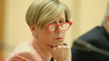Department Secretary Jane Halton may join her workforce and shell out cash for parking.