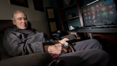 Geoff Woodrow was diagnosed with motor neurone disease 10 years ago.