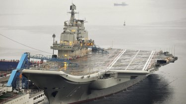 China's first aircraft carrier, bought from Ukraine in 1998, may soon be joined by a new China-built carrier.