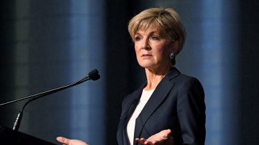 Foreign Minister Julie Bishop has called for a formal investigation into the leak on Thursday, but Treasurer Scott Morrison would not be drawn.