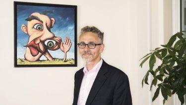 David Halpern in his office at the Behavioural Insights Team office in Greycoat Street, London