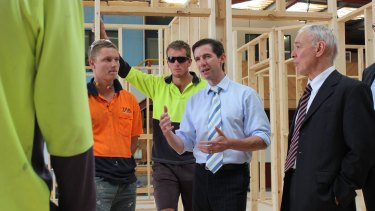 North East Vocational College added five new photos from a May 2015 visit by senators Simon Birmingham and Bob Day.