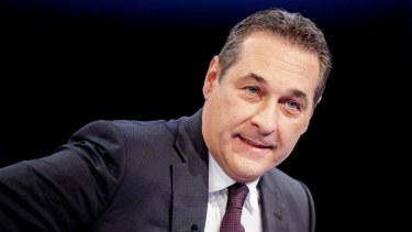 Once a Neo-Nazi, now deputy prime minister of Austria? Freedom Party leader Heinz-Christian Strache.