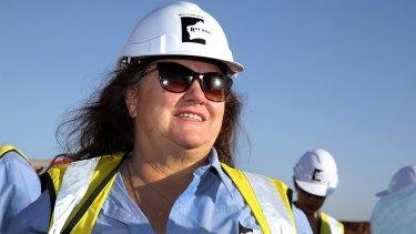 Suing Channel 9: mining billionaire Gina Rinehart.