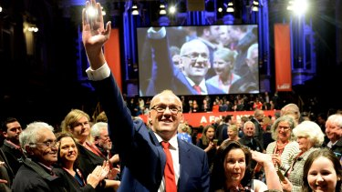 NSW Labor Party leader Luke Foley.