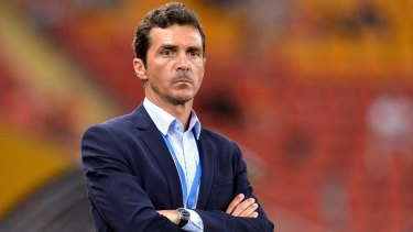 Understanding and methodology: Adelaide United coach Guillermo Amor.