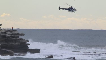 The search for a missing swimmer at Bondi resumes on Tuesday.