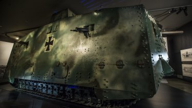 Mephisto is on loan to the Australian War Memorial in Canberra.