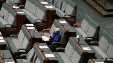 Bronwyn Bishop following her resignation as speaker.