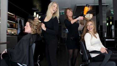 """If a person came into the salon and were given a hairdresser who only had eight days training at TAFE, I don't think they would be comfortable with that person doing their hair."": Emily Andrade, Esteem Hair and Beauty."