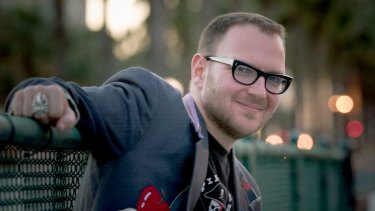 Writer and intellectual: Cory Doctorow.
