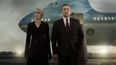 House of Cards - Season 3 Key Art, Netflix  Kevin Spacey and Robin Wright