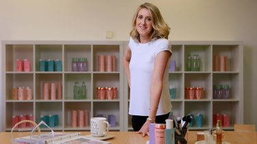 """Adore Beauty founder Kate Morris decided that """"the interests of the company are best served by being independent again""""."""