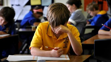 Students who sit the NAPLAN tests will have their essays marked by humans.