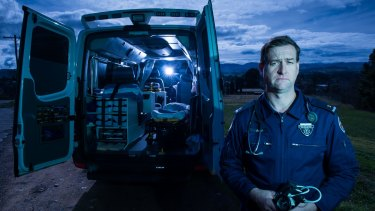 NSW Ambulance Service Paramedic based at Tumut John Larter.