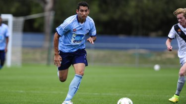 Possible call-up: Sydney FC Youth player George Timotheou could be on the big stage.
