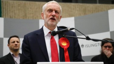 Jeremy Corbyn: rejected by his colleagues but trusted by Labour Party members.
