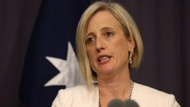 Labor senator Katy Gallagher.